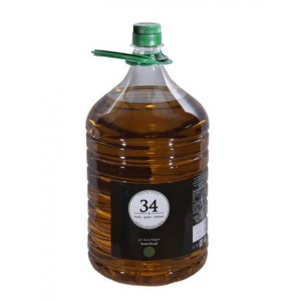 +34 Taste Pure Nature natives, spanisches Olivenöl extra, intensiv, 5 l